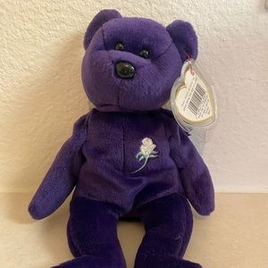 Princess Diana 1997 TY beanie baby tag protected